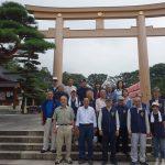 長野県護国神社境内清掃活動